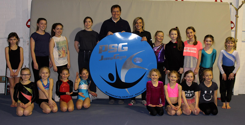 KKM Deliveries sponsor Portsmouth School of Gymnastics